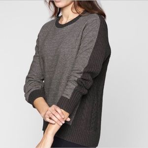 Athleta Madera Knit Merino Sweater Sweatshirt